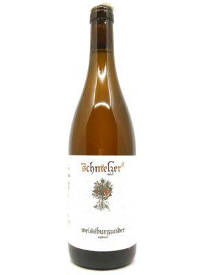 Schmelzer weissburgunder 2018 bottle