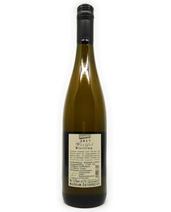 Wimmer Czerny Riesling back