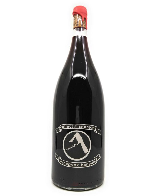 wine bottle of collectif anonyme ca rouge