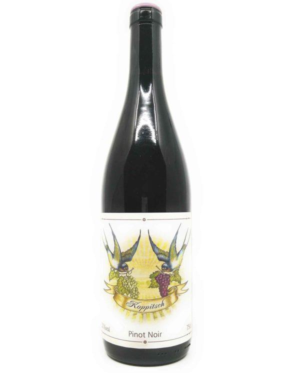 Koppitsch-Pinot Noir backlabel