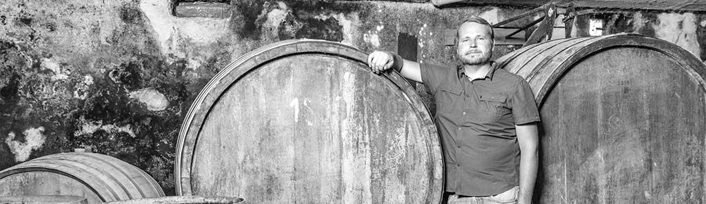 alex koppitsch in the cellar