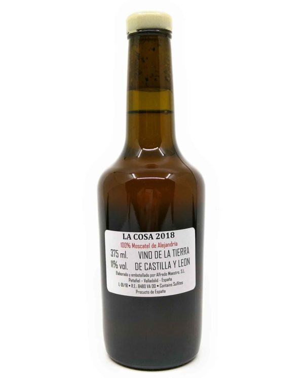 la cosa the thing back label