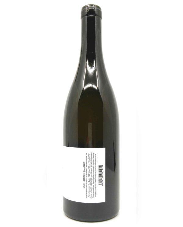 nestarec umami wine side label