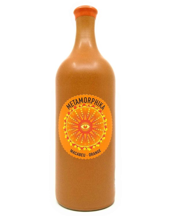 Costador Macabeu orange 2019 front label