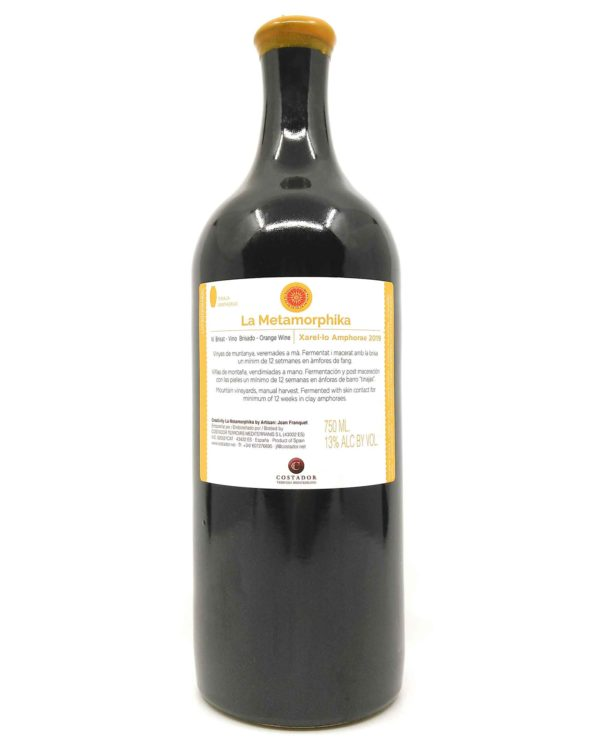 Costador Xarello Orange 2019 back label