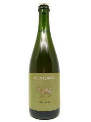 Meinklang Foam Weiss 2019 bottle