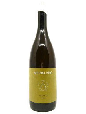 Meinklang Konkret Weiss 2016 bottle