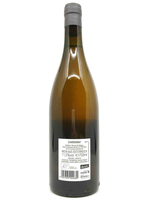 Rennersistas Chardonnay backlabel