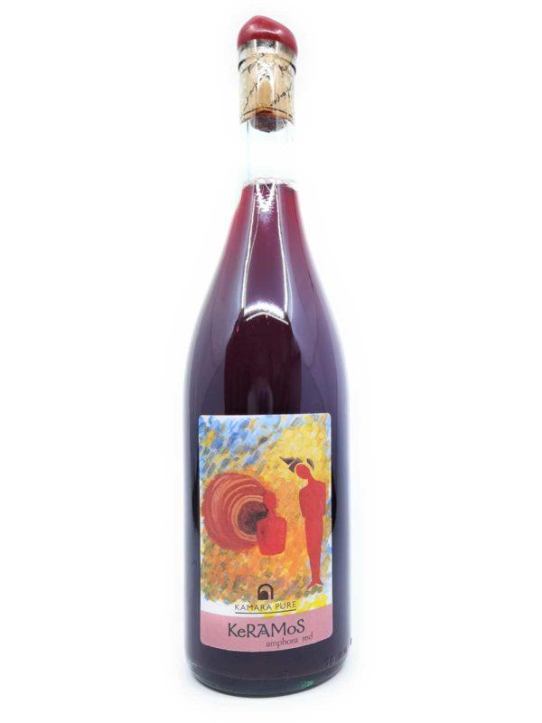 Kamara Keramos Amphora red 2019 bottle