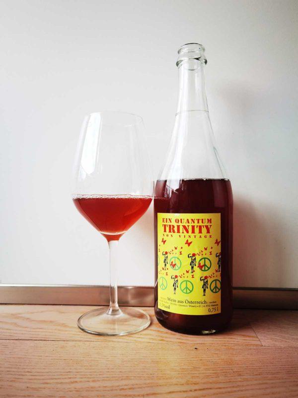 Quantum Winery Trinity glass