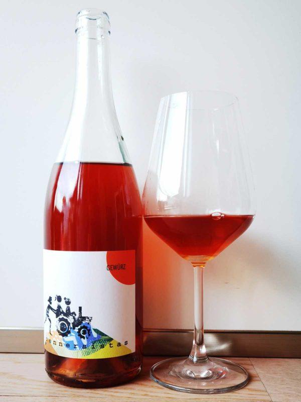 Rennersistas Gewurz 2020 glass