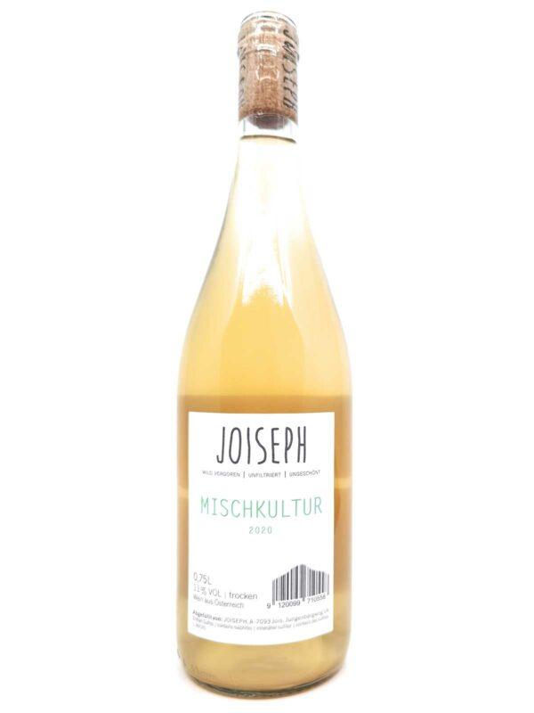 Joiseph Mischkultur gemischter satz 2020 back label