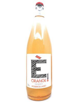 Poderi Cellario È Orange bottle