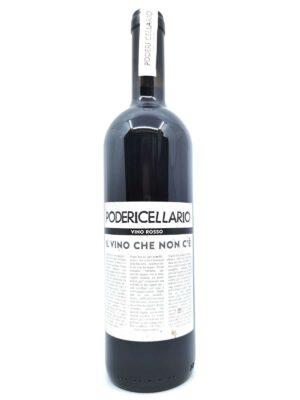Poderi Cellario il vino che non c'è rosso bottle