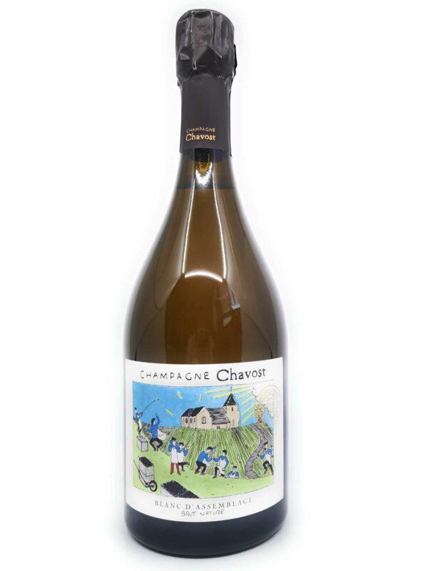 Champagne Chavost Blanc d'Assemblage bottle