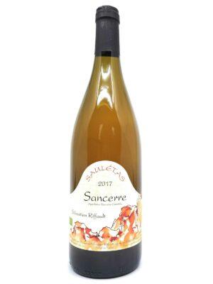 Sebastien Riffault Sauletas 2017 bottle